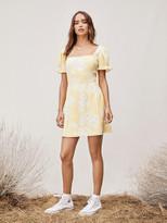 Diane von Furstenberg TVF Primrose Crepe Mini Dress