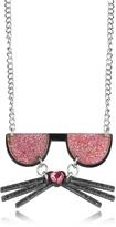 Karl Lagerfeld K/Kocktail Necklace w/Glitter Effect