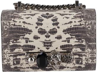 Alexander McQueen Multicolor Leather Crossbody Bag