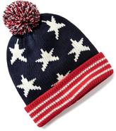 Old Navy Patterned Pom-Pom Beanie for Boys