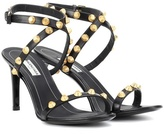 Balenciaga Giant embellished leather sandals