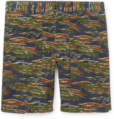 J.crew - Slim-fit Camouflage-print Stretch-cotton Cargo Shorts