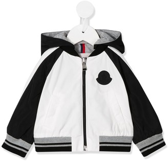 Moncler Enfant Panelled-Sleeves Hooded Jacket