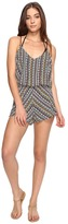 Dolce Vita Tribal Trance Romper Cover-Up Women's Jumpsuit & Rompers One Piece