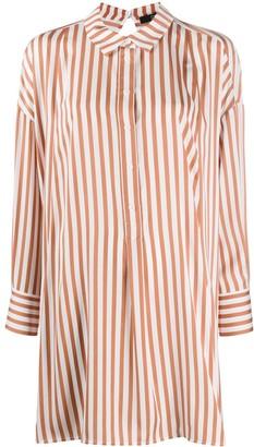 Steffen Schraut Long Striped Shirt