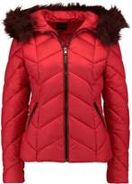 New Look CHEVRON PUFFER Winter jacket red