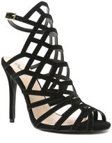 Qupid Ara 71 Caged High Heel Sandals