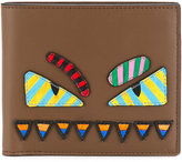 Fendi bi-fold wallet - men - Leather/Polyester - One Size