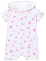 Sunuva Infants White and Pink Pop Star Towelling Onesie