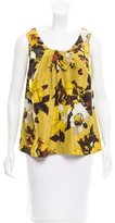 Kate Spade Printed Silk Top