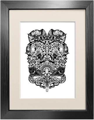 Emily Carter 'Jewel & Jaguar' - Fine Art Print A3