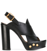 Chloé Mischa sandals - women - Calf Leather/Leather - 38