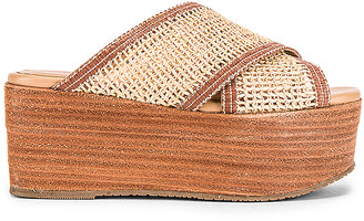 Kaanas Formentera Cross Over Fishnet Wedge