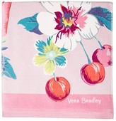 Vera Bradley Double Sided Beach Towel (Rosy Garden Picnic) Bath Towels