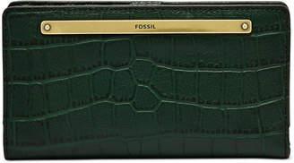 Fossil Liza Leather Slim Bifold Wallet