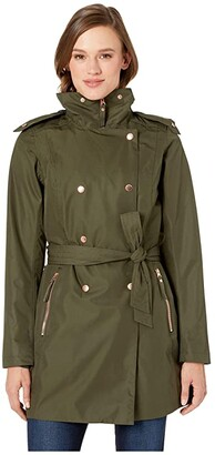 Helly Hansen Welsey II Trench (Forest Night) Women's Coat