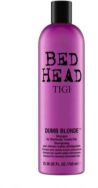 Bed Head Cosmetics Dumb Blonde Shampoo for Damaged Blonde Hair 750ml