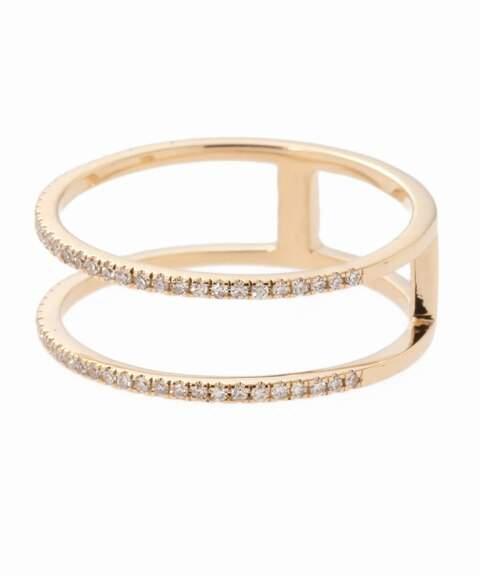 Deuxieme Classe (ドゥーズィエム クラス) - Deuxieme Classe RUEBELLE DESIGN 14K DIAMOND W RING◇