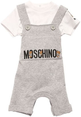 Moschino Printed Cotton T-shirt & Jumpsuit