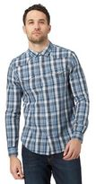 Red Herring Blue Checked Button Down Shirt