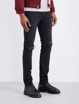 Neuw Iggy distressed slim-fit skinny jeans