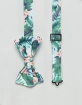 Asos Floral Bow Tie