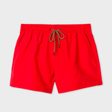 Paul Smith Men's Red Swim Shorts