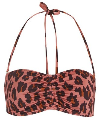Stella McCartney Leopard bikini top