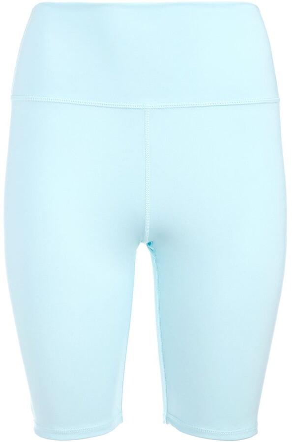 Alice + Olivia High-Waisted Biker Shorts