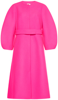 DELPOZO Coat with Voluminous Sleeves