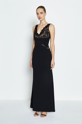 Coast Lace Bodice Jersey Maxi Dress