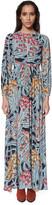 Mara Hoffman Keyhole Long Sleeve Maxi Dress
