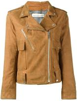 Golden Goose Deluxe Brand classic biker jacket - women - Leather/Cupro/Viscose - M