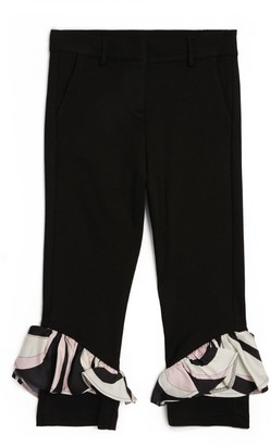 Emilio Pucci Junior Heleconia Frilled Trousers (4-14 Years)