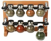 Olde Thompson 8 Piece Chrome Spice Rack