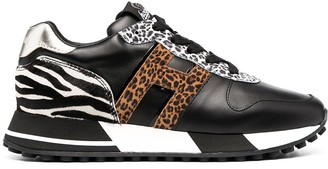Hogan Animal Print Trainers