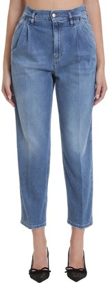 RED Valentino Jeans In Cyan Denim