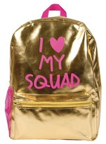 """Fashion Angels Style Lab by 16.5"""" I Heart My Squad Backpack - Gold Simmer"""