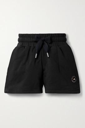 adidas by Stella McCartney Cotton-blend Jersey Shorts - Black