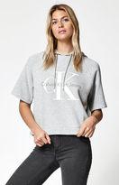 Calvin Klein For PacSun Reissue Logo Short Sleeve Hoodie
