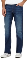 Wrangler Texas Blue 'coolmax' Mid Wash Regular Fit Jeans