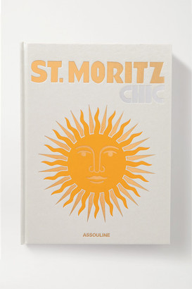 Assouline St. Moritz Chic By Dora Lardelli Hardcover Book - White