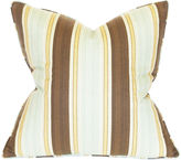 Barclay Butera Stripe 22x22 Cotton Pillow, Multi