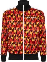 Palm Angels Burning Flames Track Jacket
