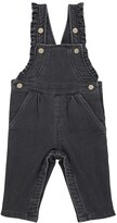 Thumbnail for your product : Tartine et Chocolat Baby cotton-blend dungarees
