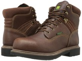 John Deere Waterproof 6 Lace-Up Steel Toe Men's Boots