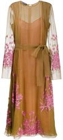Rochas embellished dress - women - Silk/Polyester - 40