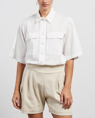 MATIN Wide Sleeve SS Shirt