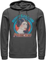Star Wars Licensed Character Men's Leia Don't Call Me Princess Hoodie