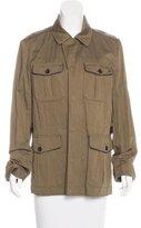 Elie Tahari Zip-Front Utility Jacket